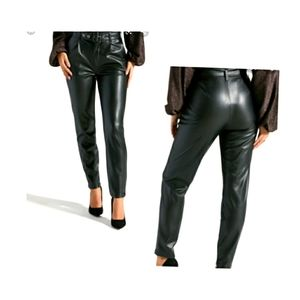 💋NWT Faux Leather Pants